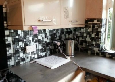 Kitchen Tiling Project – Royton