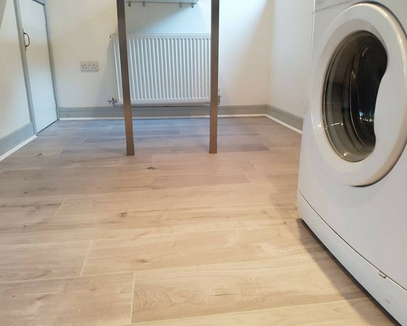laminate floor fitting project Royton
